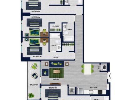 Sublease - private bedroom and bathroom near GSU