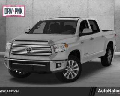 2015 Toyota Tundra Limited CrewMax 5.5' Bed 5.7L V8 4WD