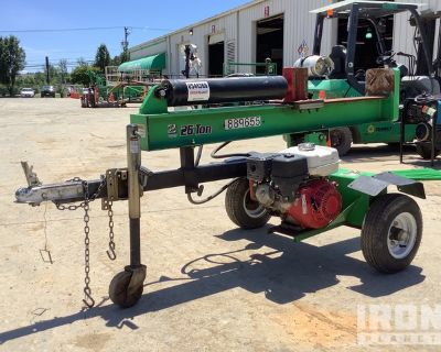 2016 (unverified) Iron & Oak BHVH2613GX Hydraulic Wood Splitter