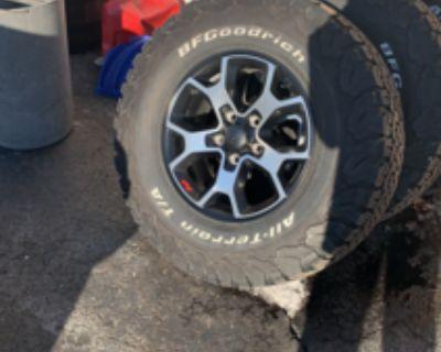 Massachusetts - (4) Stock Willys Rims (no tires) $200