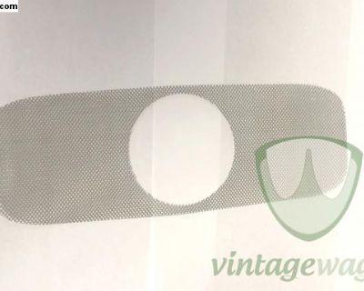 80mm Dash Chrome Clock/Gauge Grill cloth Mesh NEW!