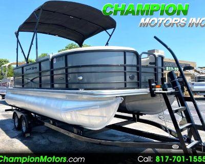 Used 2018 SouthBay 200 Pontoon Boat w/Yamaha 115HP 4 Stroke