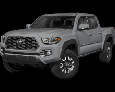 New 2021 TOYOTA Tacoma TRD Off Road Double Cab 5' Bed V6 AT (Natl)