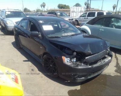 Salvage Black 2014 Mitsubishi Lancer