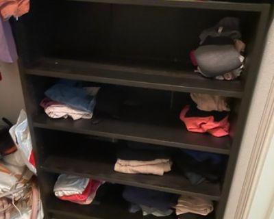 Bookshelf / Clothes Shelf