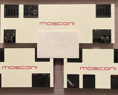 FS: Mosconi AS Amps