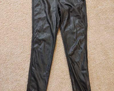 Pleather pants (