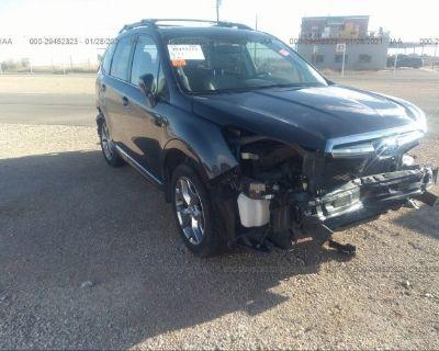 Salvage Black 2016 Subaru Forester