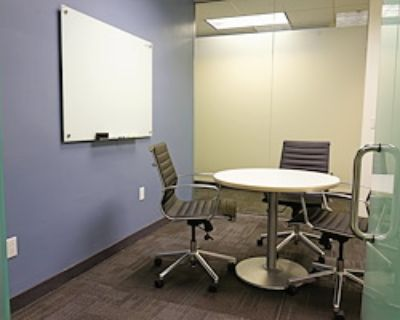 Private Meeting Room for 3 at Executive Workspace @ Spectrum