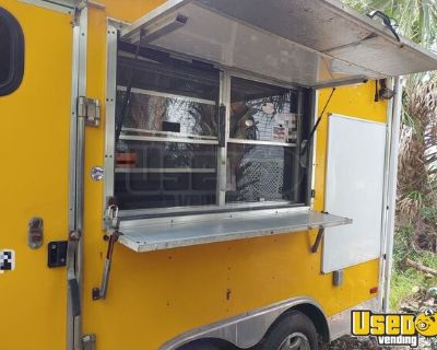 2011 Freedom 8.5' x 14' State Certified Kitchen Food Concession Trailer