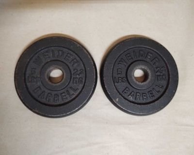 Weight Plates - 2ct - 5lbs