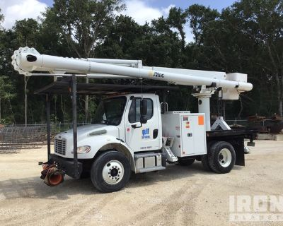2016 Altec LR758 58 ft on 2017 Freightliner M2 106 4x2 S/A Bucket Truck