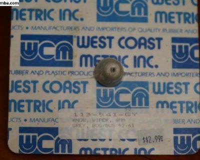 Knob Wiper 4mm (113 941 541 GY)