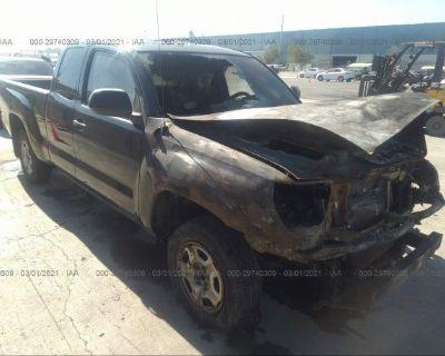 Salvage Black 2015 Toyota Tacoma
