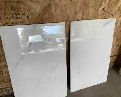 2 marble tiles