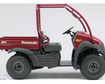 2008 Kawasaki Mule 610 4x4 Utility SxS Savannah, GA