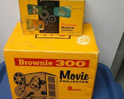 Brownie Movie Camera and Projector