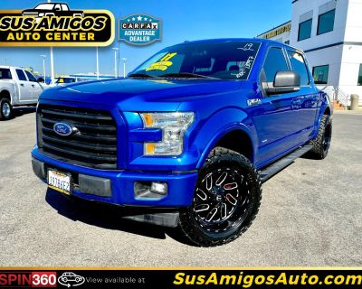 """2017 Ford F-150 2WD SuperCrew 157"""" XLT w/HD Payload Pkg"""