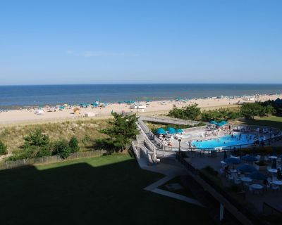 Edgewater House 3 BR+2 Bunk Rooms Ocean Front with Beautiful View of Beach - Bethany Beach