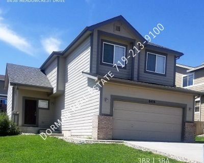 2-Story w/Finished Basement in Fountain!
