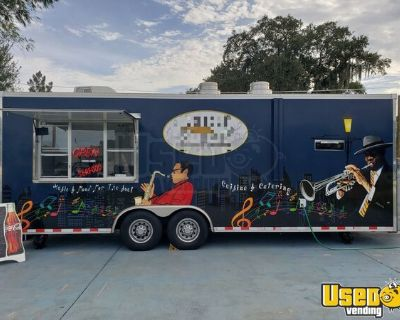 Super Neat 2016 8.6' x 24' Kitchen Food Trailer/Lightly Used Mobile Food Unit