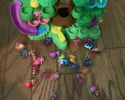 Hatchimal forest and figures