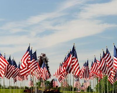 Raising of the Flags at Fairview Cemetery Smith Center KS