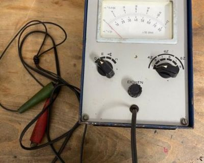 [WTB] BOSCH: Dwell / Tachometer (EFAW 166) and others