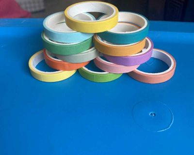 Washi tape for crafting