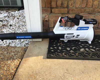 Brand new leaf blower