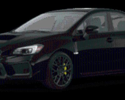 2019 Subaru WRX STI Limited with Lip Spoiler Manual
