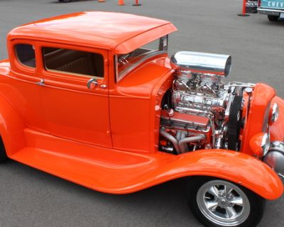 1930 Ford 5 Window All-Steel Chopped Coupe Restored Engine Swap