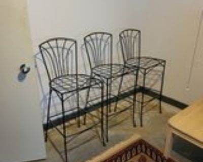 """Wire Barstools 17""""w x 16""""d x 29""""/42""""h"""