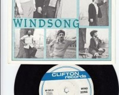 WINDSONG ~ Mint-RARE EP w/45 !