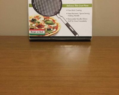 New Cuisinart Grilled Pizza Pan