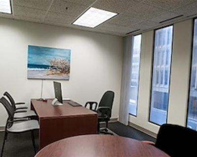 Private Office for 6 at Peachtree Offices at Downtown, Inc.