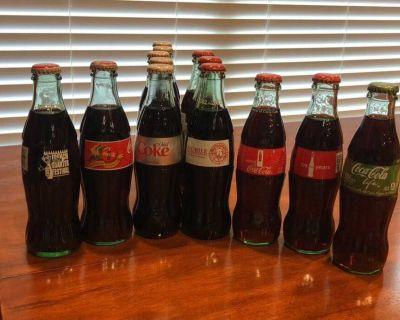 13 Collectible Coke Bottles