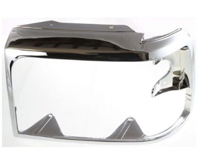 1992 1998 Fo2512130 Fits Ford Bronco Headlamp Door Chrome Driver Side F2tz13064d