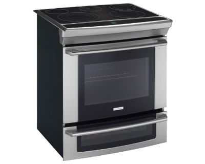 """Electrolux 30"""" Electric Slide In Range Convection Self Clean 2nd Oven"""