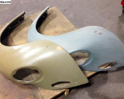 New front and rear VW bug and super beetle fenders
