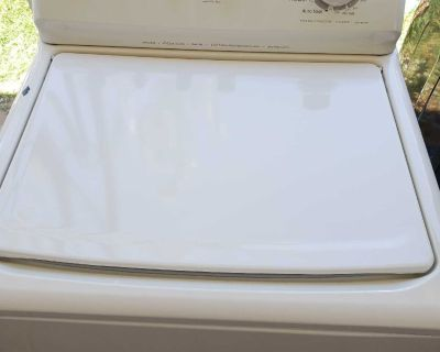 Top washer kenmore works perfect!!