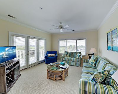 All-Suite Islander Resort Condo w/ Tennis & Oceanfront Pool - Walk to Beach! - Ocean Isle Beach
