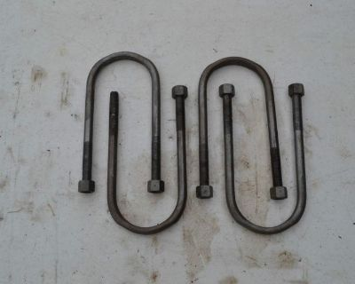 1968 - 1970 Mopar Axle-to-leaf Spring U-bolts - Restored And Ready To Bolt On
