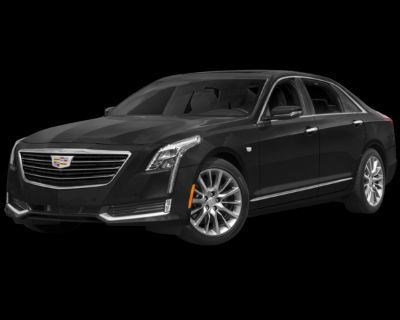 Pre-Owned 2016 Cadillac CT6 3.0L Twin Turbo Luxury With Navigation & AWD