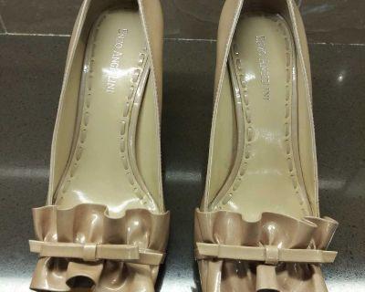 Women's Peep Toe Pump Heels - WESTSIDE
