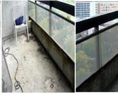 Fall Is Here, It's Your Last Chance to Get Your Balcony Cleaned, Pay No HST