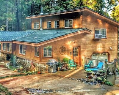 A Lovely Cabin House at Way Woods Retreat - Foresthill