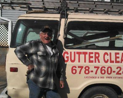 gutter cleaning help