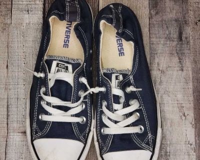 Womens 8 Navy Converse Shoes