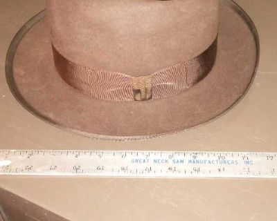Vintage Stetson Brown Whippet Hat